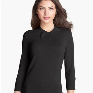 Kate Spade Abree Bow Neck Sweater Black